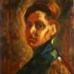 Ν. Πέτροβιτς, «Αυτοπροσωπογραφία», 1907, 65x49 εκ., λάδι σε ξύλο