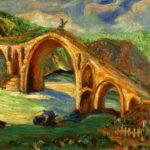Ν. Πέτροβιτς, «Η γέφυρα του Βεζίρη», 1913, 46,7x59 εκ., λάδι σε ξύλο