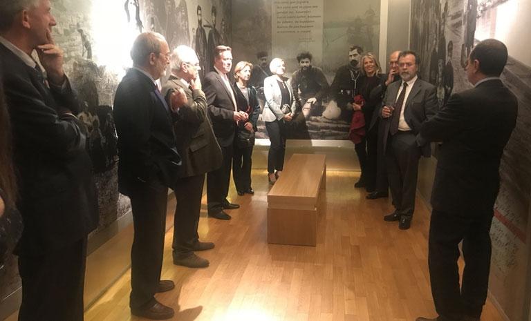 Επίσκεψη του Προξενικού Σώματος Θεσσαλονίκης στο Μουσείο Μακεδονικού Αγώνα