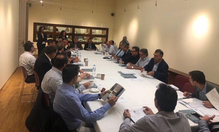 Συνεδρίαση του ΣΕΒΕ στο ιστορικό κτήριο του Μουσείου Μακεδονικού Αγώνα