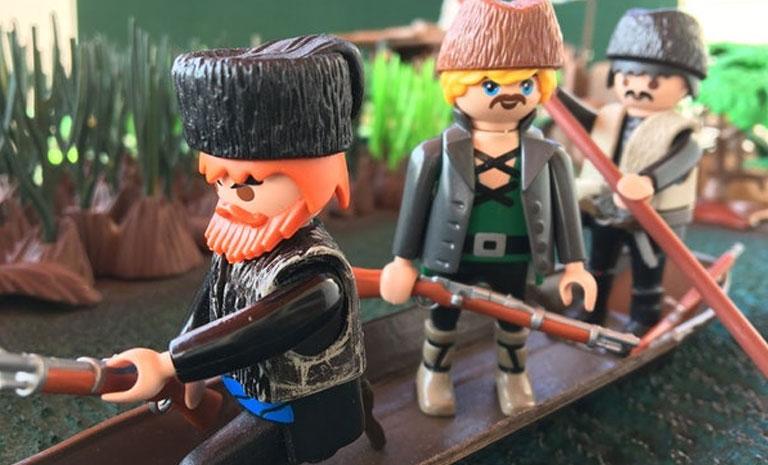 """Tα Μυστικά του Βάλτου """"ζωντανεύουν"""" με Playmobil στο Μουσείο Μακεδονικού Αγώνα"""